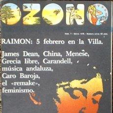 Coleccionismo de Revistas y Periódicos: OZONO - Nº 7 MARZO 1976. Lote 35810330
