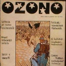 Coleccionismo de Revistas y Periódicos: OZONO - AÑO 3 Nº 18 MARZO 1977 C.N.T. : CULTURA LIBERTARIA. Lote 35812183