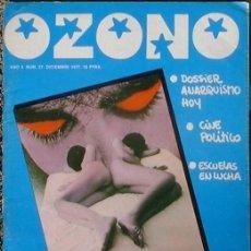 Coleccionismo de Revistas y Periódicos: OZONO - AÑO 3 Nº 27 DICIEMBRE 1977 DOSSIER: ANARQUISMO HOY. Lote 35813830