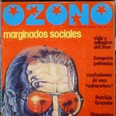 Coleccionismo de Revistas y Periódicos: OZONO - AÑO 4 Nº 28 ENERO 1978 DOSSIER: MARGINACIÓN SOCIAL.. Lote 35834386