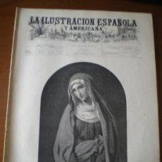 Coleccionismo de Revistas y Periódicos: ILUSTRACION ESPAÑOLA/AMERICANA (15/03/94) CUENCA ROMERO TORRES MADRAZO MARRUECOS MONAGUILLO. Lote 35836973