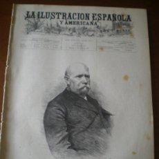 Coleccionismo de Revistas y Periódicos: ILUSTRACION ESPAÑOLA/AMERICANA (15/04/94) MALAGA MADRID PEREGRINACION SEVILLA RAE ANDALUCIA JUDAS. Lote 35837105