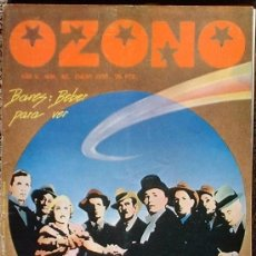 Coleccionismo de Revistas y Periódicos: OZONO - AÑO V Nº 40 ENERO 1979 DOSSIER: BARES. Lote 35839339