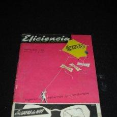 Coleccionismo de Revistas y Periódicos: REVISTA - EFICIENCIA - 1956. Lote 35839836