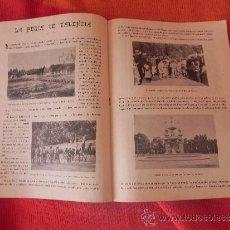 Coleccionismo de Revistas y Periódicos: REVISTA -SOL Y SOMBRA- Nº 70 AÑO 1898. SEMANARIO TAURINO ILUSTRADO DG00039. Lote 35894268