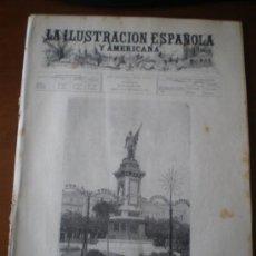 Coleccionismo de Revistas y Periódicos: ILUSTRACION ESPAÑOLA/AMERICANA (22/09/94) ASTURIAS SAN ESTEBAN DE PRAVIA SAN SEBASTIAN BILLAR ARQUEO. Lote 35920979