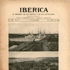 Coleccionismo de Revistas y Periódicos: REVISTA SEMANAL IBÉRICA - Nº 646 - 2 OCTUBRE 1926. Lote 35925513