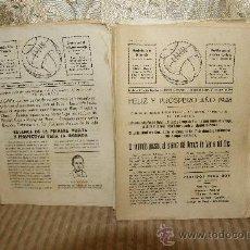 Coleccionismo de Revistas y Periódicos: 2590- BALON. REVISTA DEPORTIVA. SAN JUAN DE VILASSAR. IMP. GARCIA. 1947. 17 EJEMPLARES.. Lote 35926861