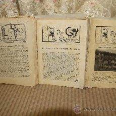 Coleccionismo de Revistas y Periódicos: 2591- GOL BOLETIN INFORMATIVO DEL DEPORTE. BLANES. 1946/1950. 129 EJEMPLARES. . Lote 35927278