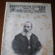 Coleccionismo de Revistas y Periódicos: ILUSTRACION ESPAÑOLA/AMERICANA (15/11/94) JOSE DE LETAMENDI FERRER GANDUXER JAPON CEMENTERIO MADRID . Lote 35933050