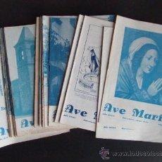 Coleccionismo de Revistas y Periódicos: LOTE DE 22 REVISTAS AVE MARIA AÑOS 1958 Y 1959 REVISTA BARCELONA. Lote 35950536