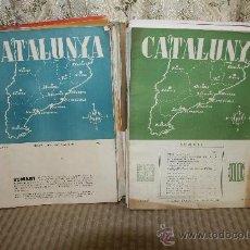 Coleccionismo de Revistas y Periódicos: 2598- CATALUNYA. REVISTA D'INFORMACIO I EXPANSIO CATALANA. LOTE 25 NUMEROS. . Lote 35976146
