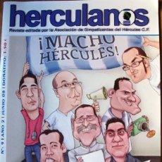Coleccionismo de Revistas y Periódicos: FÚTBOL REVISTA HERCULANOS - HERCULES DE ALICANTE Nº 9 JUNIO 2008-40 PÁG. TAMAÑO 30X21. Lote 35990194