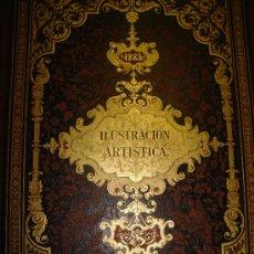 Coleccionismo de Revistas y Periódicos: LA ILUSTRACIÓN ARTÍSTICA,PERIÓDICO SEMANAL,GRABADOS,TM III,AÑO 1884, DEL Nº 105 AL157,MONTANER SIMON. Lote 35991719