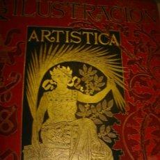 Coleccionismo de Revistas y Periódicos: LA ILUSTRACIÓN ARTÍSTICA, PERIÓDICO SEMANAL, GRABADOS, 1890, TM IX, DEL Nº 444 AL 470, BARCELONA. Lote 35991834