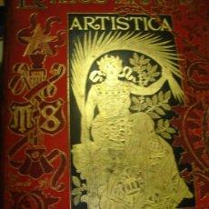 Coleccionismo de Revistas y Periódicos: LA ILUSTRACIÓN ARTÍSTICA, PERIÓDICO SEMANAL, GRABADOS, 1893,TM XII, AÑO XII, DEL Nº 575 AL 626, BCN. Lote 35992006
