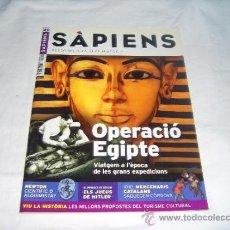 Coleccionismo de Revistas y Periódicos: SÀPIENS Nº 40: OPERACIÓ EGIPTE,ELS JUEUS DE HITLER,MERCENARIS CATALANS,NEWTON CIENTIFIC O ALQUIMISTA. Lote 36151711