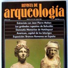 Coleccionismo de Revistas y Periódicos: REVISTA DE ARQUEOLOGÍA Nº 110 / JUNIO 1990 - ZUGARTO EDICIONES - VER ÍNDICE. Lote 36016533