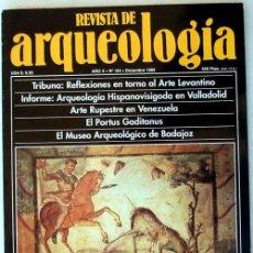 Coleccionismo de Revistas y Periódicos: REVISTA DE ARQUEOLOGÍA Nº 104 / DICIEMBRE 1989 - ZUGARTO EDICIONES - VER ÍNDICE. Lote 36016752