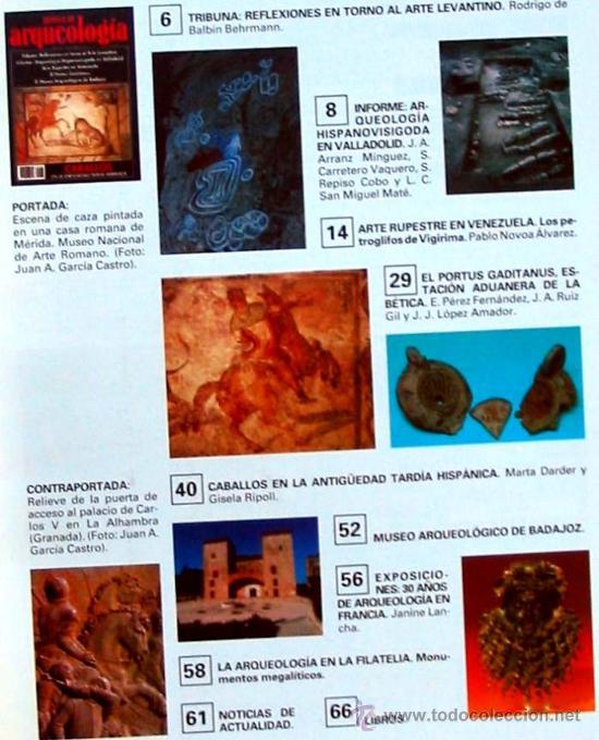 Coleccionismo de Revistas y Periódicos: REVISTA DE ARQUEOLOGÍA Nº 104 / DICIEMBRE 1989 - ZUGARTO EDICIONES - VER ÍNDICE - Foto 2 - 36016752