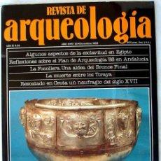 Coleccionismo de Revistas y Periódicos: REVISTA DE ARQUEOLOGÍA Nº 92 / DICIEMBRE 1988 - ZUGARTO EDICIONES - VER ÍNDICE. Lote 36047822