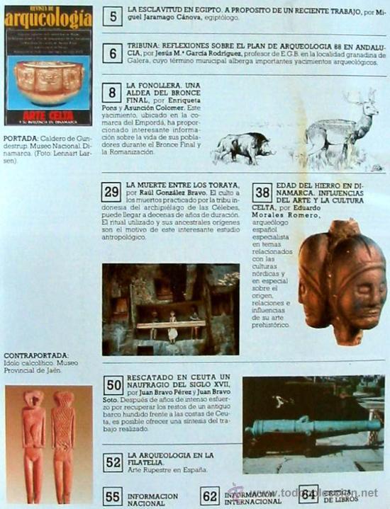 Coleccionismo de Revistas y Periódicos: REVISTA DE ARQUEOLOGÍA Nº 92 / DICIEMBRE 1988 - ZUGARTO EDICIONES - VER ÍNDICE - Foto 2 - 36047822
