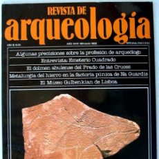 Coleccionismo de Revistas y Periódicos: REVISTA DE ARQUEOLOGÍA Nº 86 / JUNIO 1988 - ZUGARTO EDICIONES - VER ÍNDICE. Lote 36047960