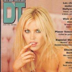 Coleccionismo de Revistas y Periódicos - Revista DT JUNIO 1998 - ELIZABETH BERKLEY, GENA NOLIN, - 36050015