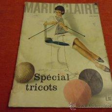 Coleccionismo de Revistas y Periódicos: MARIE CLAIRE , ESPECIAL TRICOTS, N 76 - 1961 - 156 PAGINAS. Lote 36051875