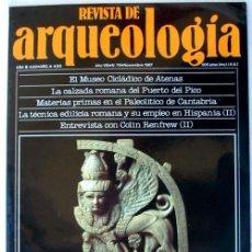Coleccionismo de Revistas y Periódicos: REVISTA DE ARQUEOLOGÍA Nº 79 / NOVIEMBRE 1987 - ZUGARTO EDICIONES - VER ÍNDICE. Lote 36055125