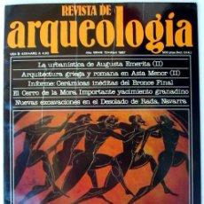 Coleccionismo de Revistas y Periódicos: REVISTA DE ARQUEOLOGÍA Nº 72 / ABRIL 1987 - ZUGARTO EDICIONES - VER ÍNDICE. Lote 36055206