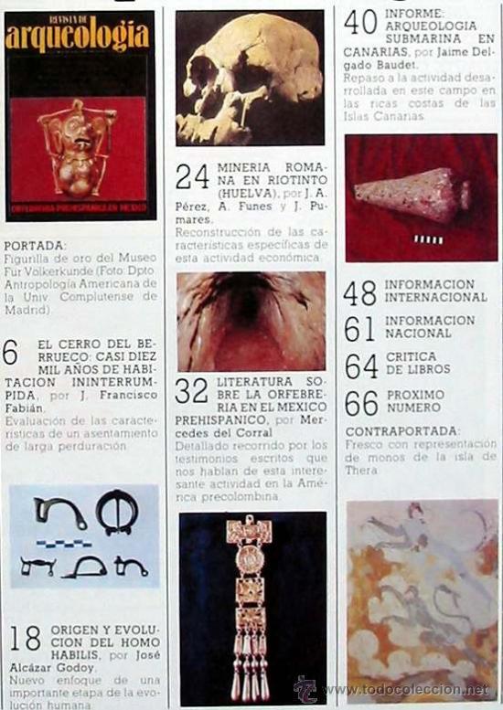 Coleccionismo de Revistas y Periódicos: REVISTA DE ARQUEOLOGÍA Nº 56 / DICIEMBRE 1985 - ZUGARTO EDICIONES - VER ÍNDICE - Foto 2 - 36096073