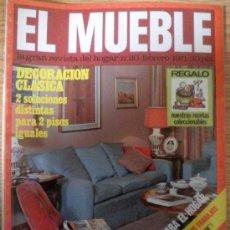 Coleccionismo de Revistas y Periódicos: REVISTA DECORACION EL MUEBLE Nº 110 FEBRERO 1971. Lote 36100773