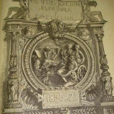Coleccionismo de Revistas y Periódicos: REVISTA ILUSTRACION ESPAÑOLA Y AMERICANA,GRABADOS Y PUBLICIDAD DE ÉPOCA 1890,AÑO XXXIV Nº 25 AL 48. Lote 36102581
