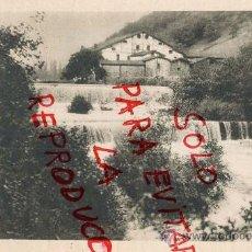 Coleccionismo de Revistas y Periódicos: IDIAZABAL 1926 PRESA DE SANTILLANA RIO ORIA GUIPUZCOA HOJA REVISTA. Lote 36110185