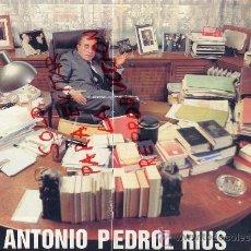 Coleccionismo de Revistas y Periódicos: ANTONIO PEDROL RIUS 1992 REUS 4 HOJAS REVISTA. Lote 36220440