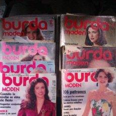 Coleccionismo de Revistas y Periódicos: REVISTAS BURDA MODEN Y NEW MODE. Lote 117576028