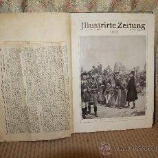 Coleccionismo de Revistas y Periódicos: 2756- ILLUSTRIRTE ZEITUNG. Nº 3636. MARZO 1813. REVISTA DE HISTORIA ALEMANA. VER DESCRIPCION.. Lote 36286229