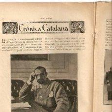 Coleccionismo de Revistas y Periódicos: HOJAS REPORTAJE.AÑOS 20.CAMBO.MIQUEL LLOBET.MUSICA.BLANES.JOAN LLAVERIES.PINTURA.COMTE DE CARALT.. Lote 36320360
