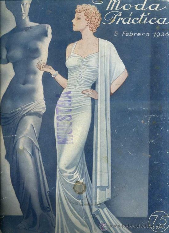 MODA PRÁCTICA FEBRERO 1936 (Coleccionismo - Revistas y Periódicos Antiguos (hasta 1.939))