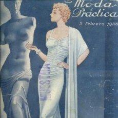 Coleccionismo de Revistas y Periódicos: MODA PRÁCTICA FEBRERO 1936. Lote 36386799