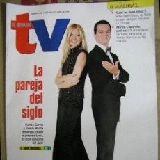 Coleccionismo de Revistas y Periódicos: REVISTA EL SEMANAL TV DE 1999. Lote 36396095