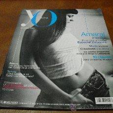 Coleccionismo de Revistas y Periódicos: REV.YO DONA 5/2008 AMARAL.-AMPLIO RPTJE.MUJERES DE EXCEPCIÓN,SED/MUJERES DE AGUA,LA NOVIA DEL EBRO-Z. Lote 36416104