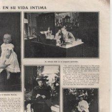 Coleccionismo de Revistas y Periódicos: LOS REYES DE ESPAÑA: VICTORIA Y ALFONSO XIII, PRÍNCIPE DE ASTURIAS, INFANTA BEATRIZ... - 1910. Lote 36435286