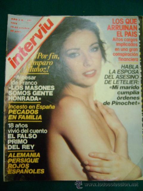 Interviu Nº 127 Amparo Muñoz Miss Universo D Vendido En Venta