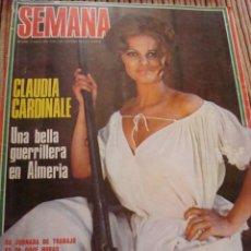 Coleccionismo de Revistas y Periódicos: CLAUDIA CARDINALE. SEMANA.. Lote 36455076