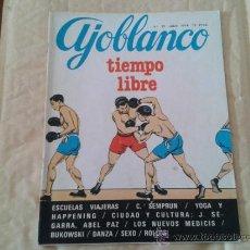 Coleccionismo de Revistas y Periódicos: REVISTA AJOBLANCO Nº 35 JULIO DE 1978. Lote 36458512