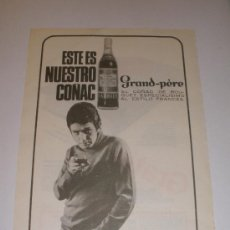 Coleccionismo de Revistas y Periódicos: ANUNCIO PUBLICIDAD COÑAC GRAND-PÈRE. BODEGAS BARBIER. BILBAO. Lote 36506373