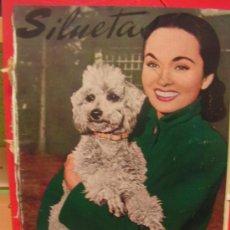 Coleccionismo de Revistas y Periódicos: REVISTA MODA Y CINE, SILUETAS MARZO 1953 ANN BLYTH. Lote 36509885
