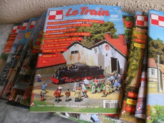 Coleccionismo de Revistas y Periódicos: lote revistas sobre tren,maquetismo,en frances - Foto 3 - 36502170